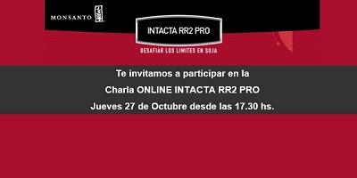 Charla Online INTACTA rr2 PRO