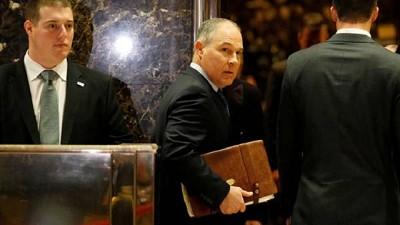 Donald Trump nombra a un esc�ptico del cambio clim�tico para dirigir la agencia medioambiental