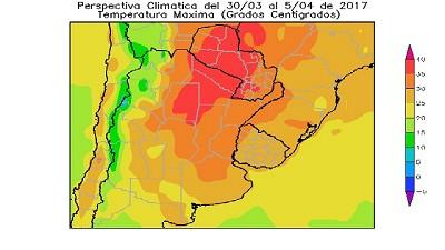 Informe clim�tico semanal - por Ing. Agr. Eduardo Sierra