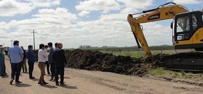 Se suma equipamiento para la mejora de caminos rurales en Balcarce